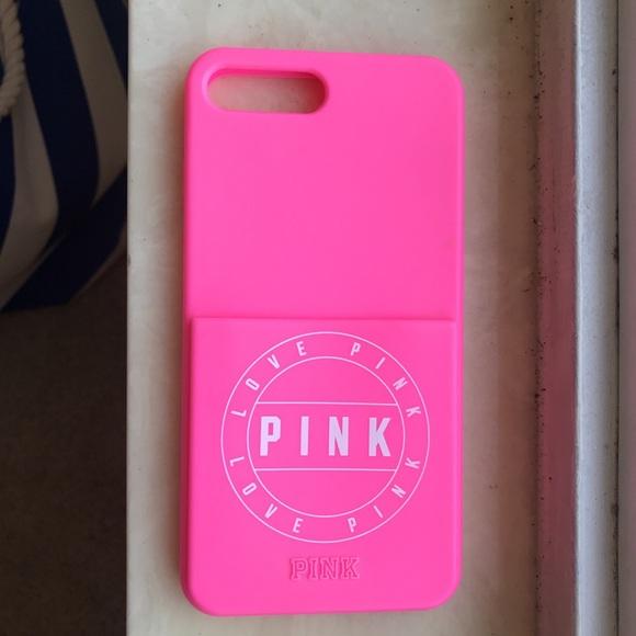 PINK Victoria's Secret Accessories - victoria secret PINK iPhone 7+/8+ rubber case